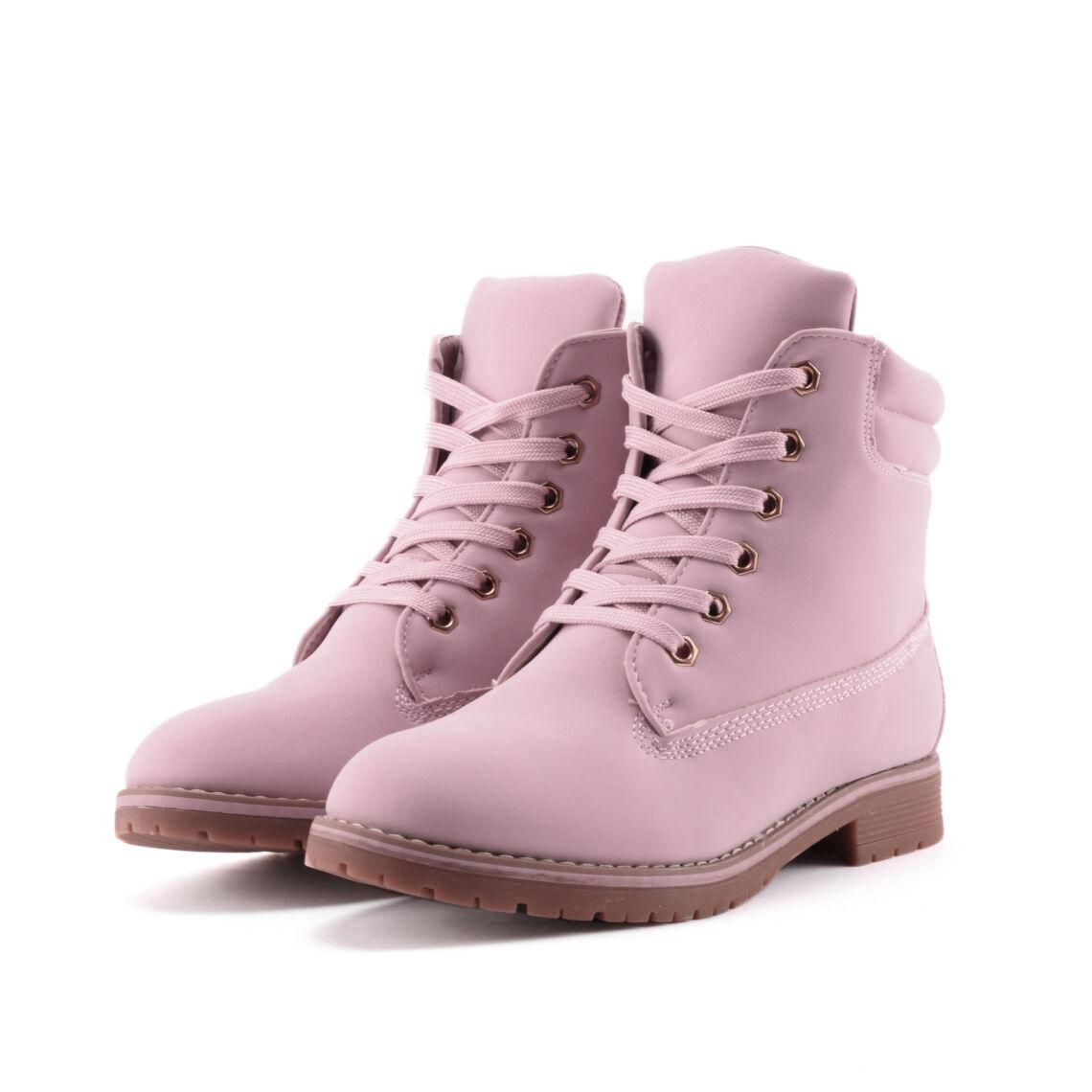 15f82c6234 Rózsaszín Női Bélelt Műbőr Bakancs - BAKANCSOK - Női cipő webáruház ...