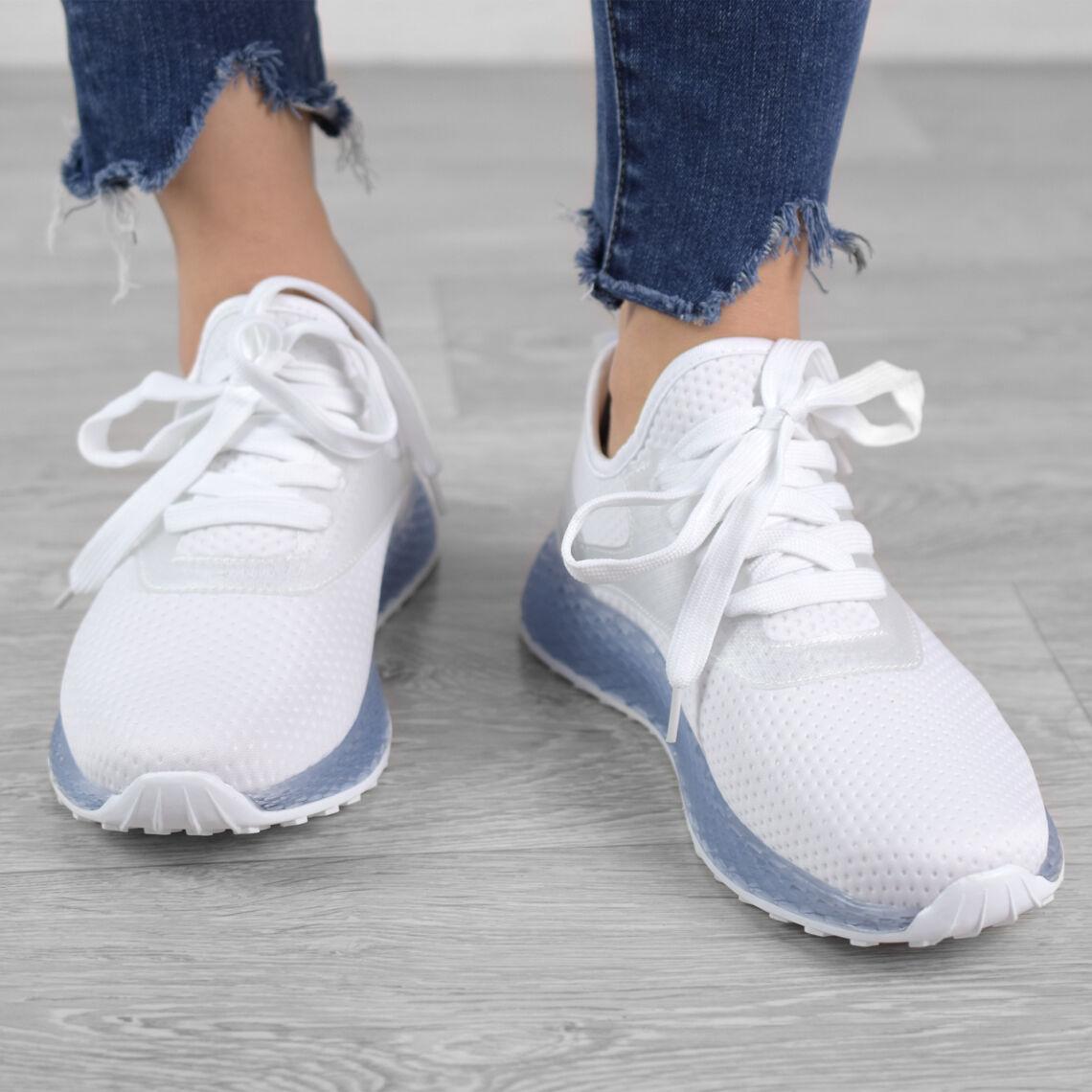 93ca3fae52 Fehér Női Poliészter Sportcipő - SPORTCIPŐK - Női cipő webáruház-női ...