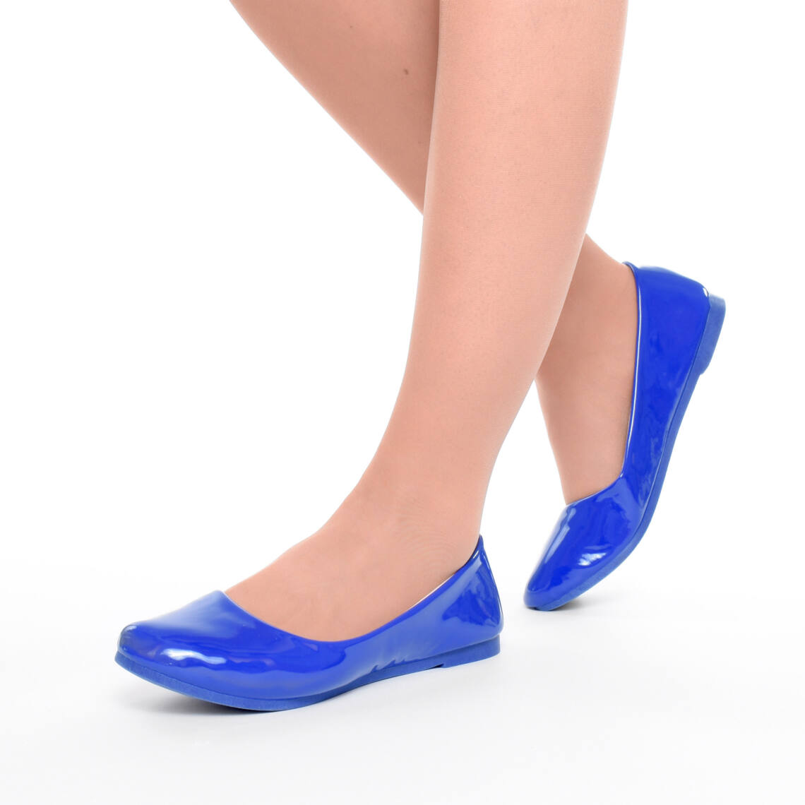 85fd981419 Női Kék Lakk Balerina Cipő - BALERINA CIPŐK - Női cipő webáruház-női ...