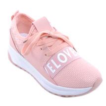 Női Szövet Sportcipő Rózsaszín