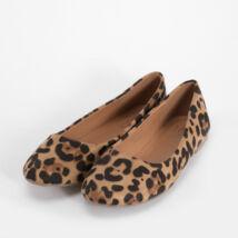 Leopárd Mintás Női Művelúr Balerina Cipő - BALERINA CIPŐK - Női cipő  webáruház-női csizmák 47c5268c3f