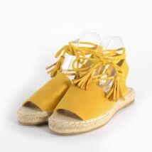 Sárga Női Megkötős Művelúr Szandál