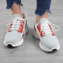 Fehér Női Poliészter Sportcipő