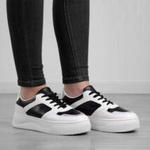 Seastar Női Fekete Szintetikus Magastalpú Utcai Cipő