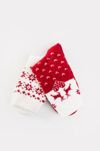 Aura Via Karácsonyi Komfort Zokni (2 pár)