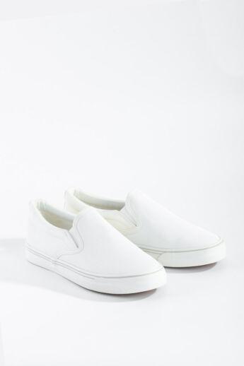 Fehér csillogós Slip-on