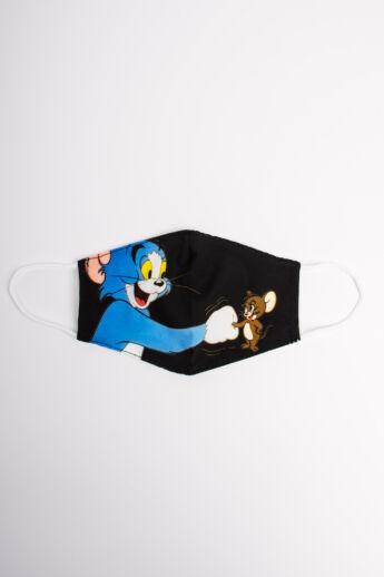 Tom&Jerry 2 Rétegű Trendi Textil Gyerek Szájmaszk