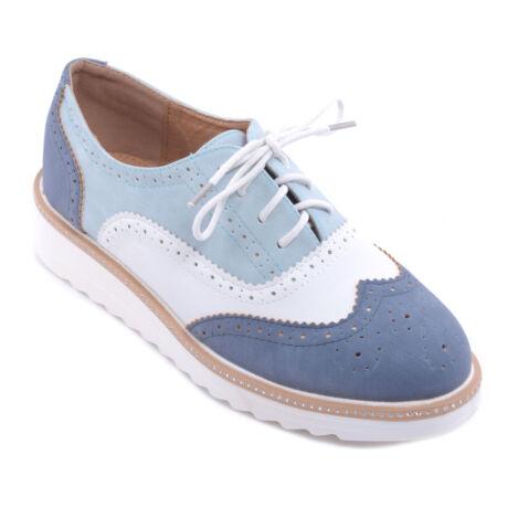 Női Műbőr Félcipő Cipő Kék