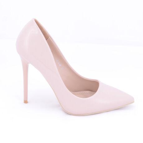 Small Swan Rózsaszín Lakk Magassarkú Cipő