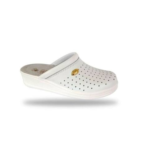 Drmontebosco Női Papucs - Komfort Papucs 1350 Bianco 35-Ös