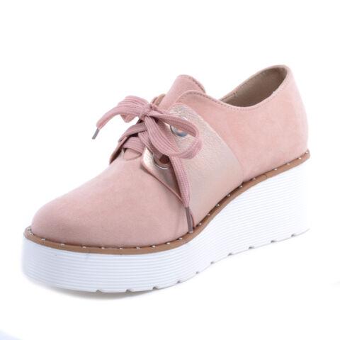 Női Művelúr Félcipő Cipő Rózsaszín