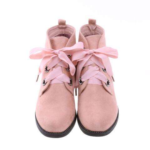 Női Rózsaszín Művelúr Bokacsizma