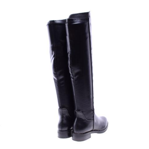 b00b063076 Női Fekete Műbőr Hosszúszárú Csizma - MAGASSZÁRÚ CSIZMÁK - Női cipő ...
