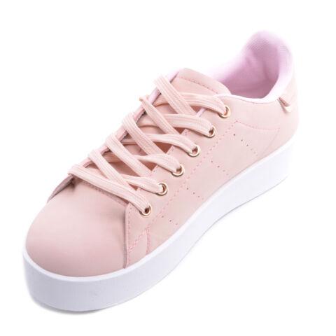 Rózsaszín Műbőr Félcipő