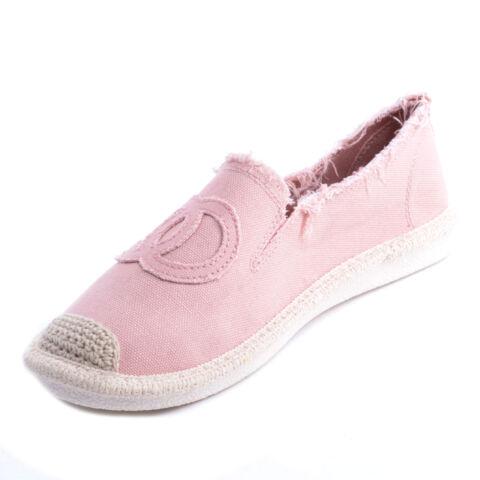 Női Rózsaszín Szövet Slip-On