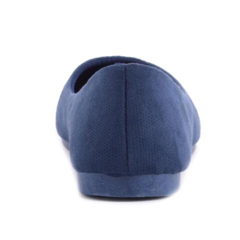 Kék Női Művelúr Balerina Cipő