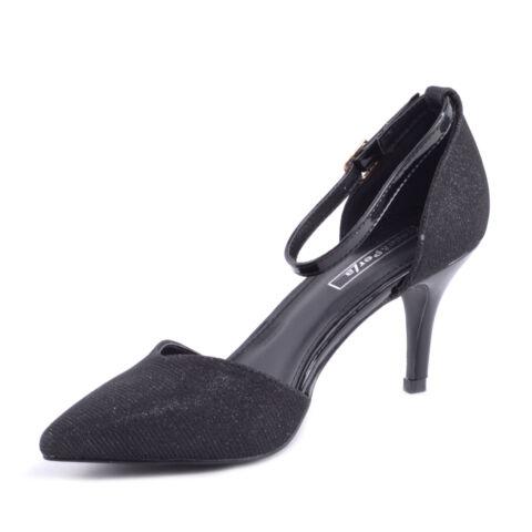 Fekete Női Magassarkú Cipő