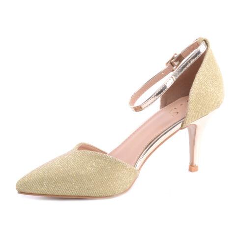 481d6bdee7b7 Arany Női Magassarkú Cipő - ALKALMI CIPŐK - Női cipő webáruház-női ...