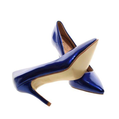 Kék Színű lakk Magassarkú