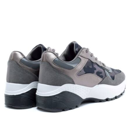 Terepmintás sportos női utcai cipő