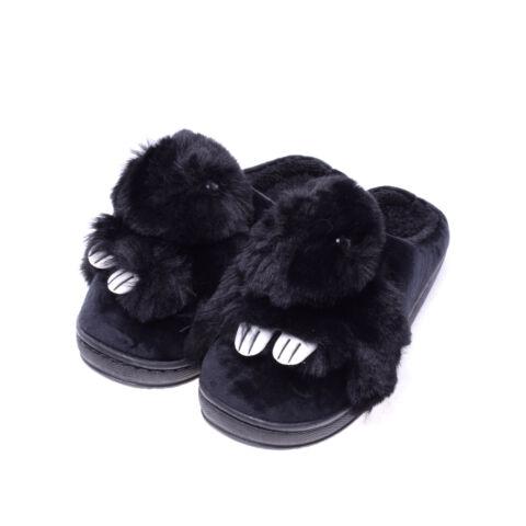 a82ab9fa15 Fekete szőrmés női nyuszis papucs - MAMUSZ - Női cipő webáruház-női ...