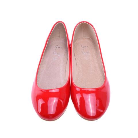 Női Piros Lakk Balerinacipő