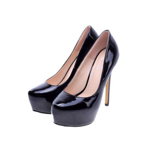 8d6f9f3d74 Női Fekete Lakk Magassarkú - ALKALMI CIPŐK - Női cipő webáruház-női ...