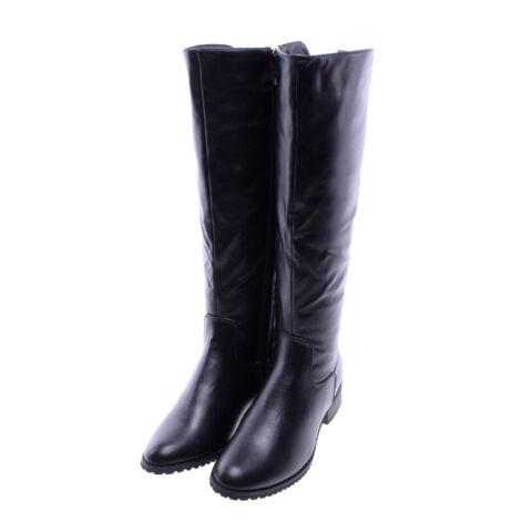 67edd0b7b1 Női fekete Műbőr Magasszárú Csizma - MAGASSZÁRÚ CSIZMÁK - Női cipő ...