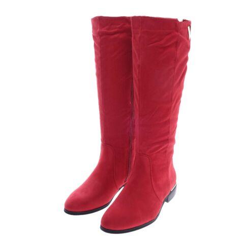 3786801cfe Női Hosszúszárú Piros Művelúr Csizma - MAGASSZÁRÚ CSIZMÁK - Női cipő ...
