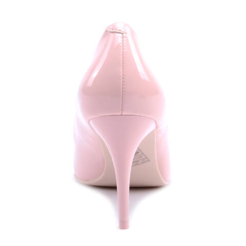 Női Lakk Magassarkú Világos Rózsaszín