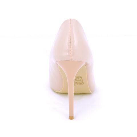 Rózsaszín Lakk Magassarkú Cipő