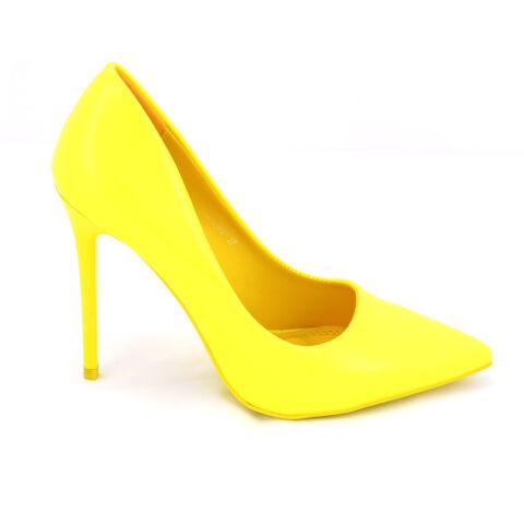 Sárga Lakk Magassarkú Cipő