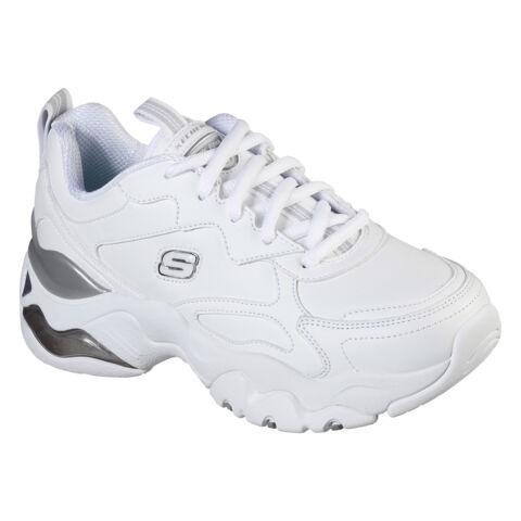 Hófehér Skechers D'Lites Női Sneaker