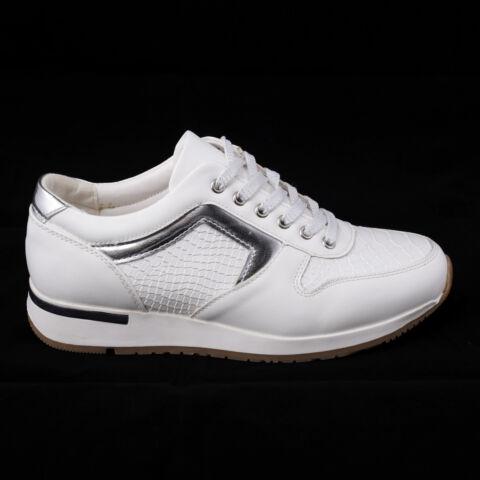 4aa550aeca28 Női Fehér Lakkos Sportcipő - UTCAI CIPŐK - Női cipő webáruház-női ...