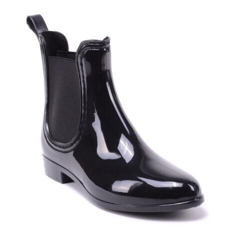 Egyesült Királyság speical ajánlat eltérően Női Fekete Lakk Boka Gumicsizma - GUMICSIZMÁK - Női cipő webáruház ...