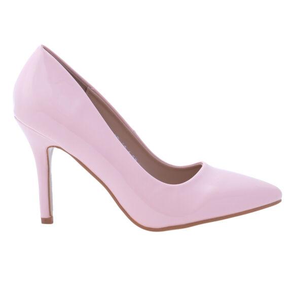 Rózsaszín  Színű Lakk Magassarkú