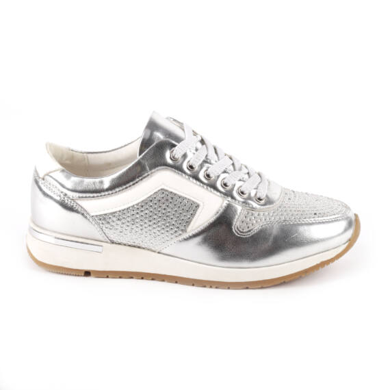 Ezüst Női Gyöngyös Sportcipő