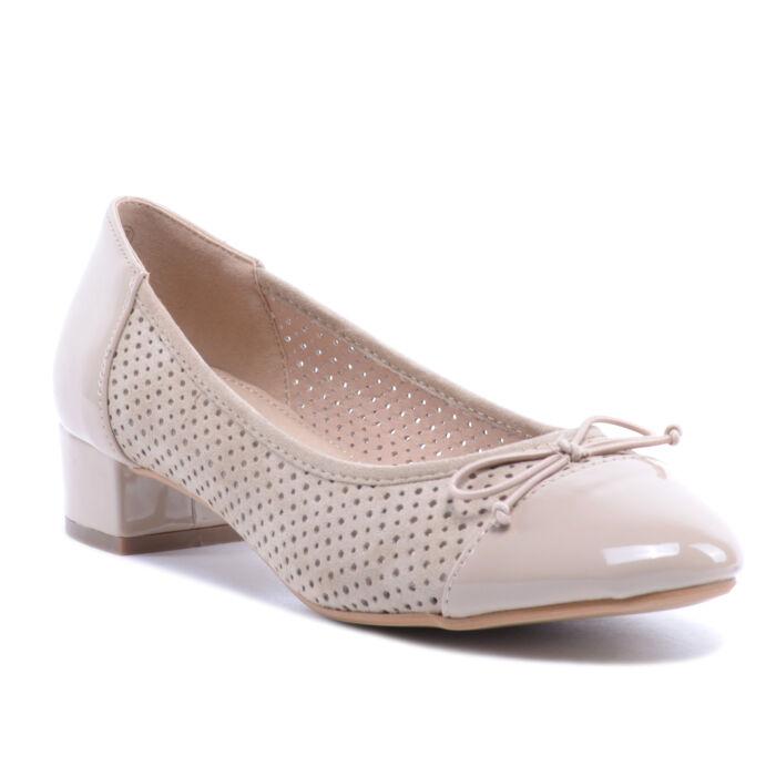 Bézs Női Trottőr Sarkú Cipő - ALKALMI CIPŐK - Női cipő webáruház-női ... 755897dc67