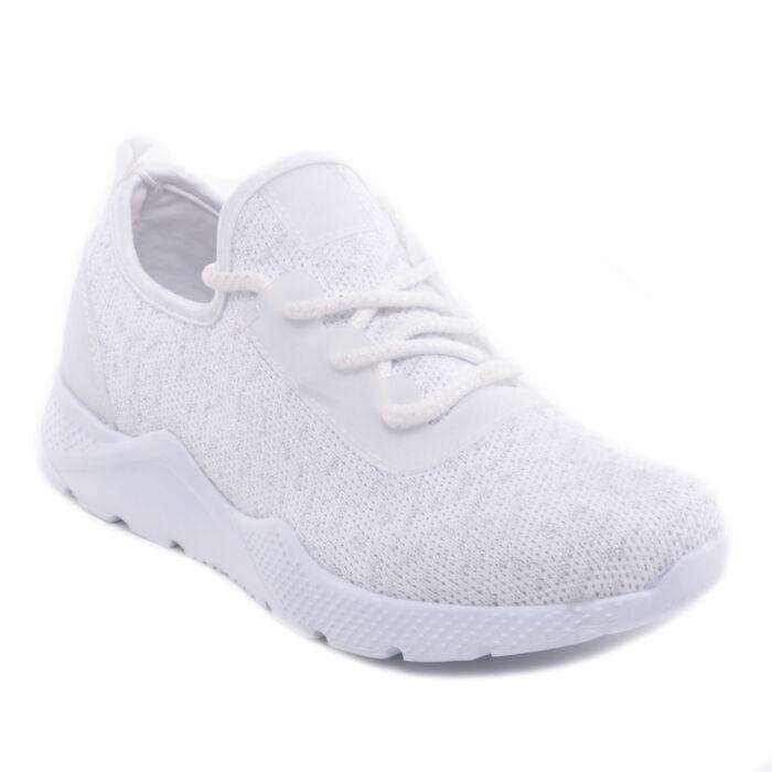 Fehér Női Poliészter Sportcipő - SPORTCIPŐK - Női cipő webáruház-női ... 0ac584a9fc