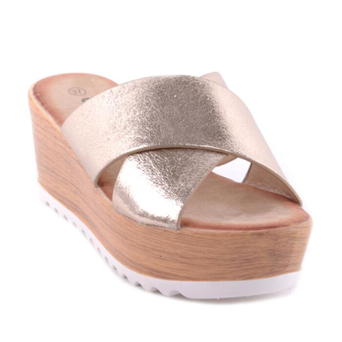 rózsaszín Női Telitalpú Papucs - LAPOS TALPÚ SZANDÁLOK - Női cipő webáruház- női csizmák adb50ec4c5
