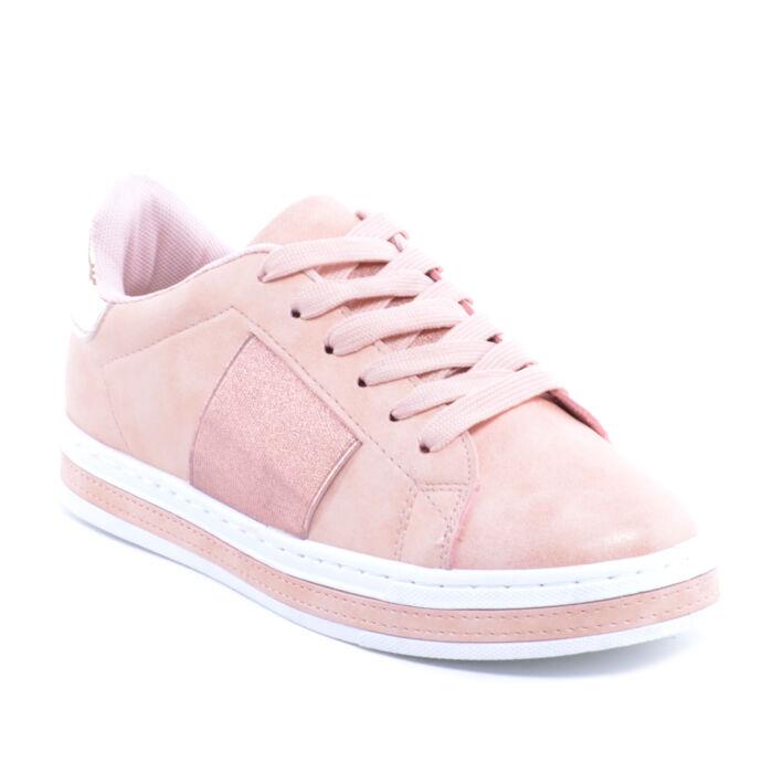 Rózsaszín Női Műbőr Félcipő - UTCAI CIPŐK - Női cipő webáruház-női csizmák 763687a6ac