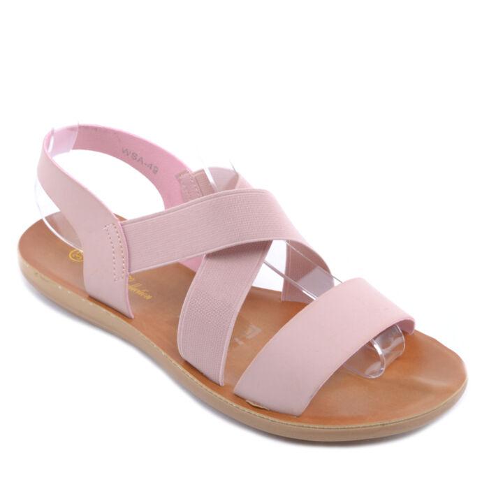Rózsaszín Női Szandál - LAPOS TALPÚ SZANDÁLOK - Női cipő webáruház-női  csizmák 55596c5734