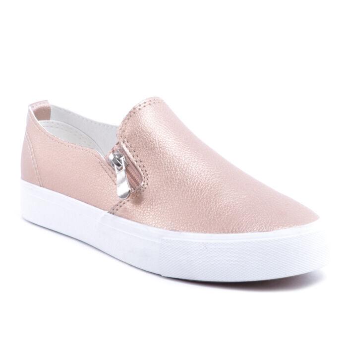 Pezsgő Színű Női Műbőr Slip-On - SLIP-ON - Női cipő webáruház-női csizmák 5b7870be79