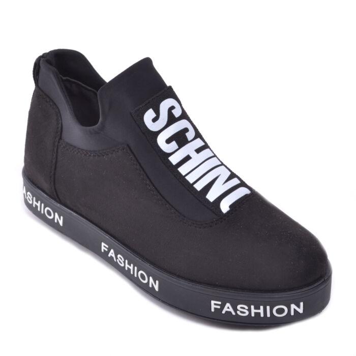 Fekete Női Művelúr Utcai Cipő - UTCAI CIPŐK - Női cipő webáruház-női ... 9970e967fe
