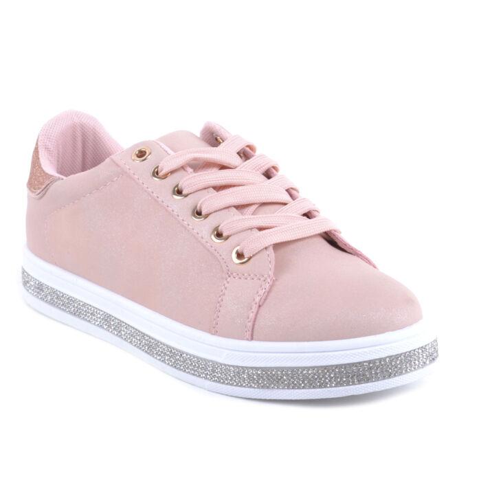 Női Műbőr Sportcipő Rózsaszín - SPORTCIPŐK - Női cipő webáruház-női csizmák 50a48bbf70