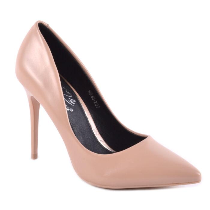 Női Műbőr Magassarkú bézs Színű - ALKALMI CIPŐK - Női cipő webáruház-női  csizmák a85284212c