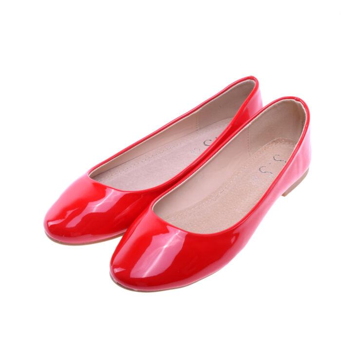Női Piros Lakk Balerinacipő - BALERINA CIPŐK - Női cipő webáruház-női  csizmák 9bc438d25d