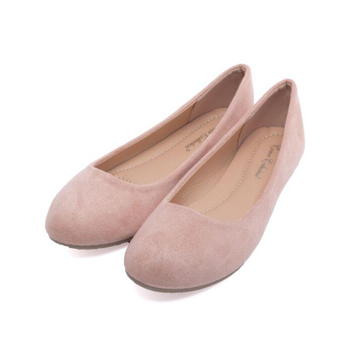 Női Rózsaszín Művelúr Balerina Cipő - BALERINA CIPŐK - Női cipő webáruház- női csizmák e2325c7ce5