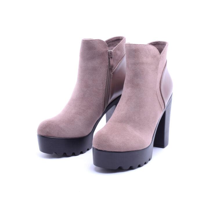 Khaki Magassarkú Platformos Bokacsizma - BOKACSIZMÁK - Női cipő webáruház- női csizmák da516a3e96