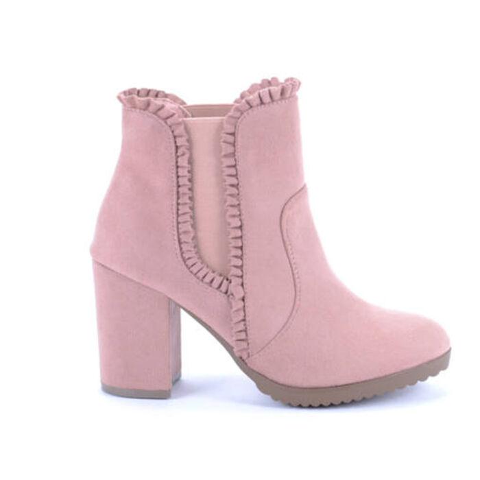 Seastar Rózsaszín Női Magassarkú - MAGASSZÁRÚ CSIZMÁK - Női cipő webáruház-női  csizmák 78abbd34cb